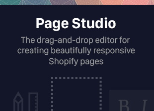 Page Studio - Create Beautiful Shopify Pages