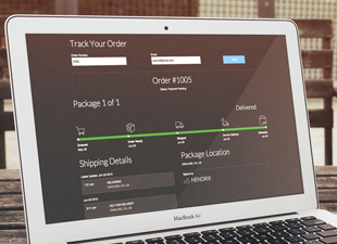 Tracktor- Order status updates and package tracking