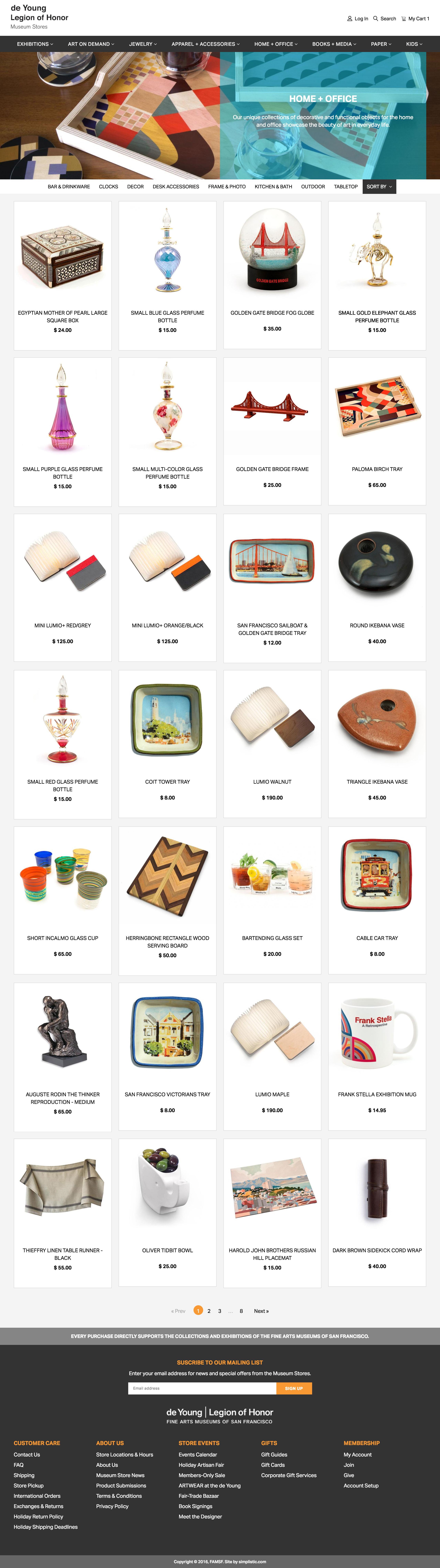 shopify plus migration for famsf shoppad
